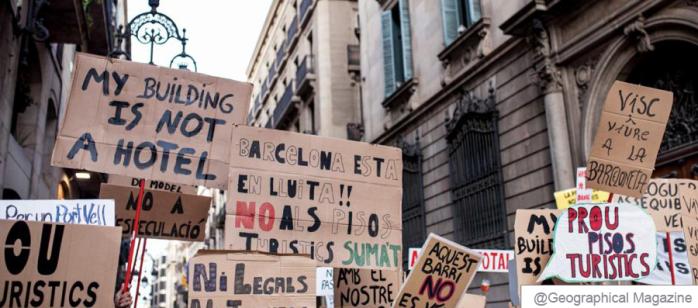 Manifestació pisos